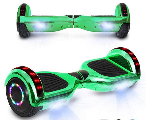 CHO 6.5 inch Chrome Hoverboard