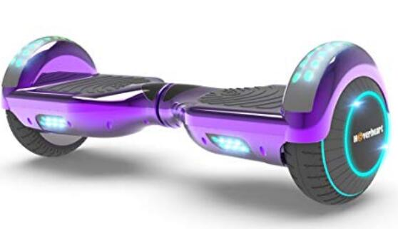 Hoverboard Two-Wheel Top LED Light- Self Balancing Electric Scooter