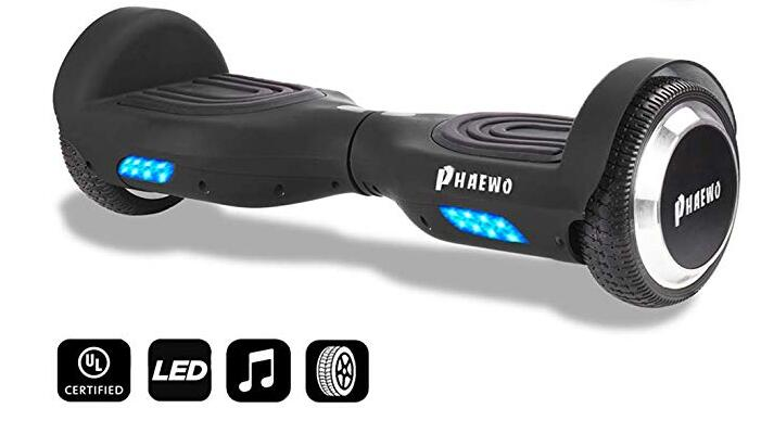 Phaewo Bluetooth Hoverboard with LED Light