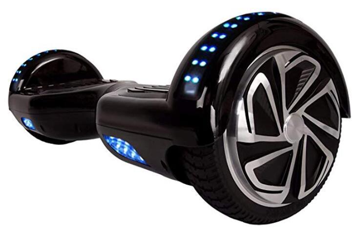 WorryFree Gadgets Certified Smart Self Balancing Hoverboard