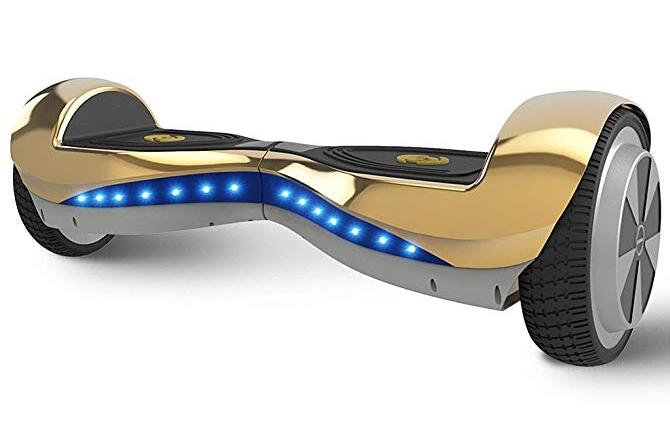 Hoverheart Hoverboard Self Balancing Electric Scooter with Wireless Speaker