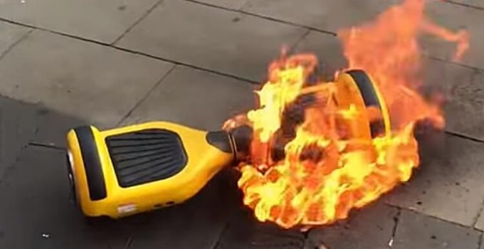 Why Hoverboards Catching on Fire