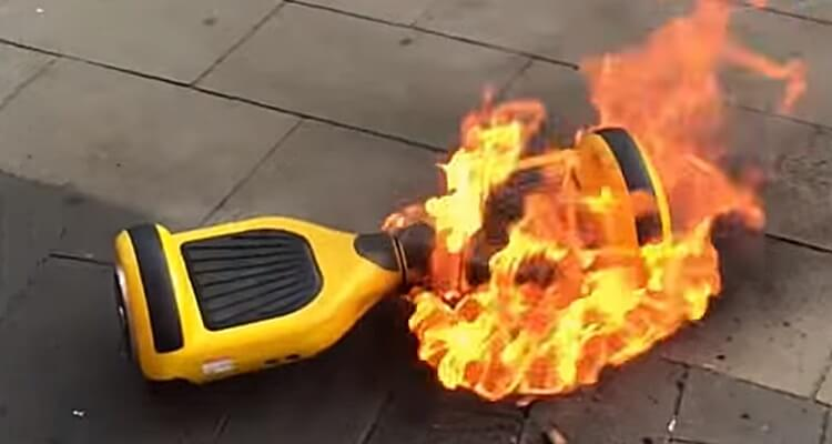 Why Hoverboards Catching on Fire and How to Prevent?