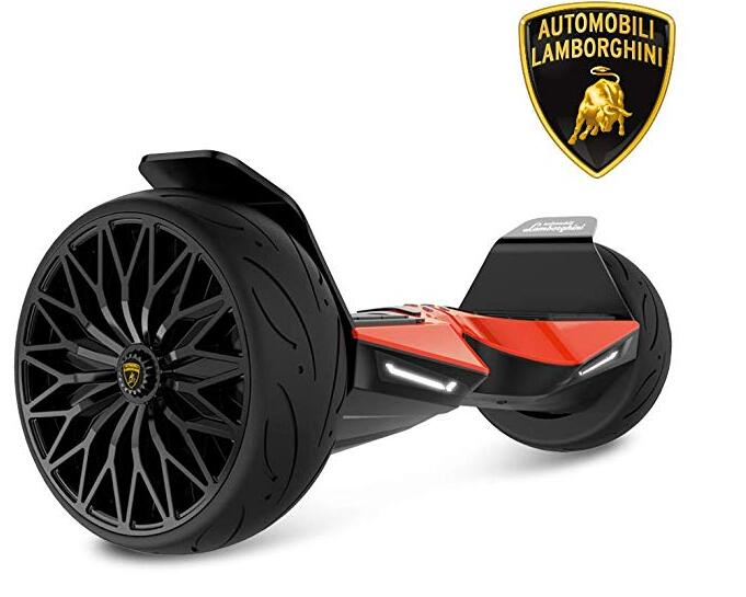 "Lamborghini Hoverboard, 8.5"" Off Road Hoverboard All Terrain"