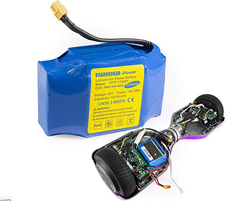 Hoverboard Battery Samsung Rechargeable Scooter Safe Replacement