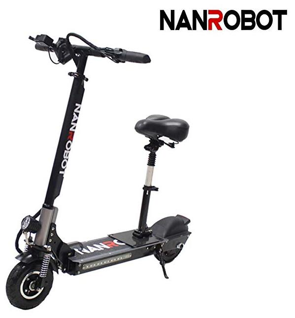 NANROBOT Motor Powerful Adult Electric Scooter