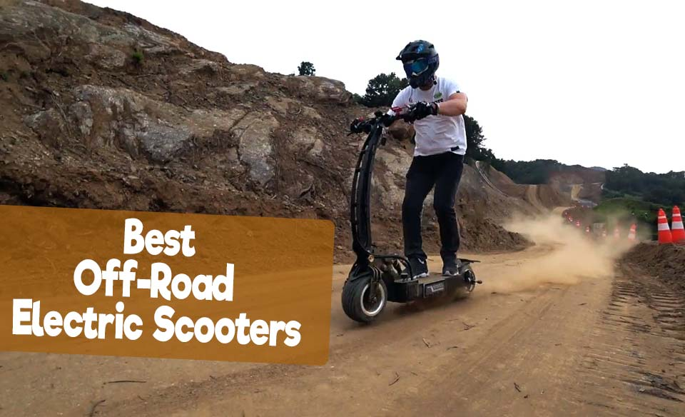 6 Best Off-road Electric Scooters Reviews with Comparison