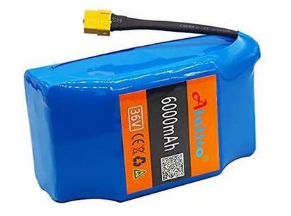 Alatilo 100% New 36V 6.0ah Lithium Battery
