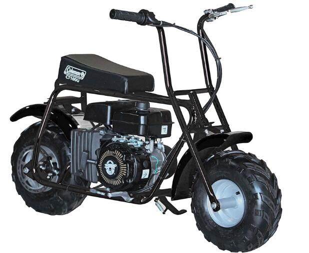 Coleman Powersports CT100U-B Gas Powered Trail Mini-Bike