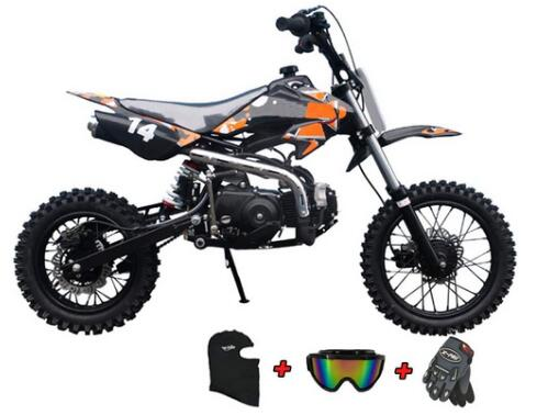 X-PRO 110cc Dirt Bike Kids Dirt Pitbike