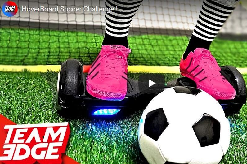 HoverBoard Soccer Challenge!!(Best Soccer I ever Watched)