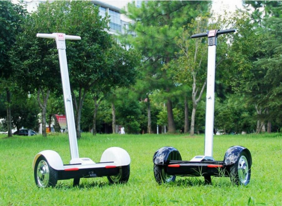 Hoverboard with Handle