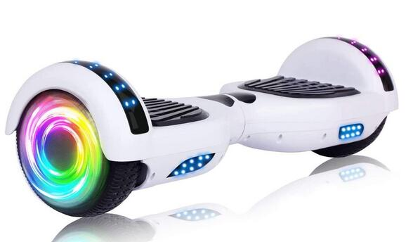 SISIGAD Colorful Lights Hoverboard for Kids